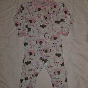 ❤ 6mo footie pajamas